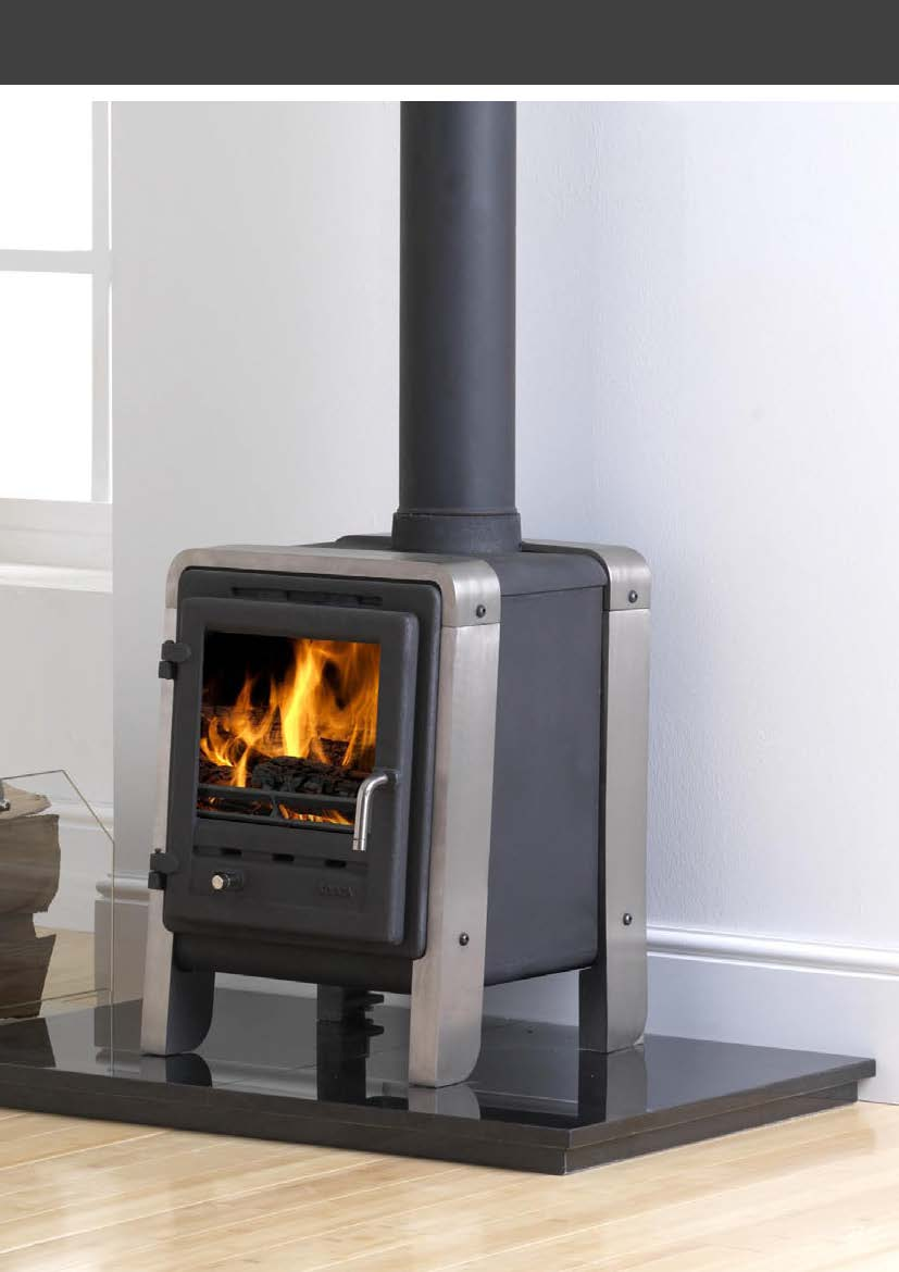 Kooga Clean Burn Multifuel Stove 5kw