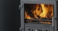 190mm x 80mm Balmoral Stove Fire Glass